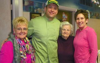 Chef Josh Horrigan with WTRE listeners